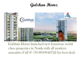 2/3 BHK Apartments in Gulshan Homz Noida | Property Guru