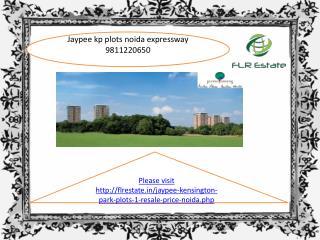 jaypee kensington park plots 9811220650 noida sector 133 res
