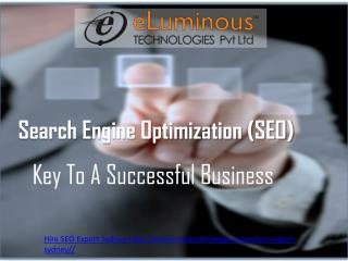 Hire SEO Expert Sydney with eLuminous Technology