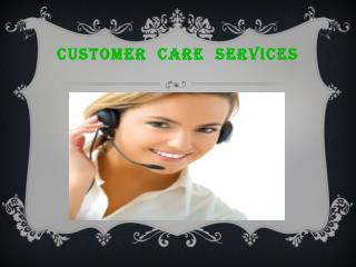 The Best Online Customer Care Services Provider Company
