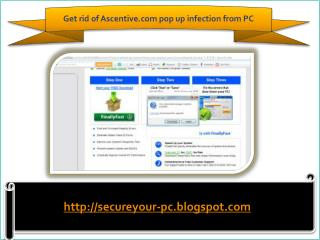 Remove Ascentive.com pop up (Removal Guide)