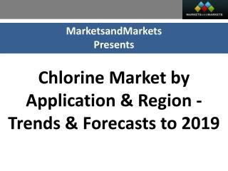 Chlorine Market worth $33,362 Million by 2019