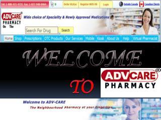 Canadian Prescription Drugs
