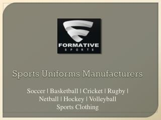 Cricket Uniforms Manufacturers | Custom Team Uniform
