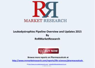 Leukodystrophies Pipeline Assessment, H1 2015