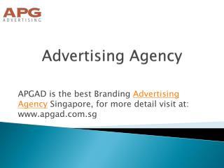 Branding Advertising Agency Singapore