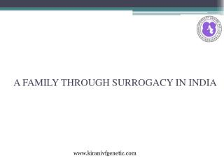 A Family Through Surrogacy in India