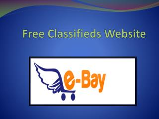 Free Classifieds Website