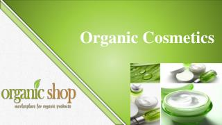 A Healthier Skin, A healthier you- Why use organic Cosmetics