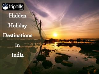 10 Hidden Hill Station Holiday Destinations in India