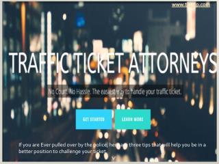 Traffic Tickets Attorneys Los Angeles