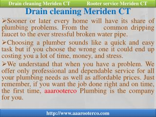Cleaning, Rooter Service, Sink Installation, Water Heater an