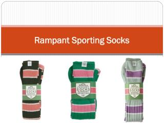 Rampant Sporting Socks