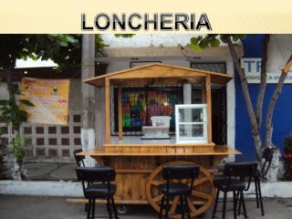 GIRO DE LA EMPRESA   LONCHERIA Y CAFETERIA