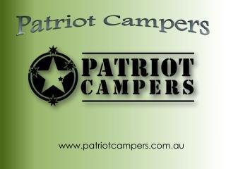 Patriot Campers - www.patriotcampers.com.au