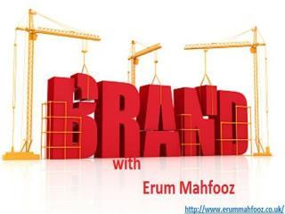 manage brand online erum mahfooz