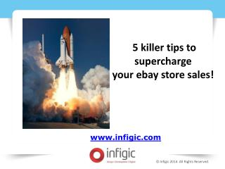 5 Killer Tips to Supercharge your eBay Store Sales