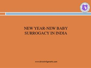 New Year-New Babies Surrogacy in India