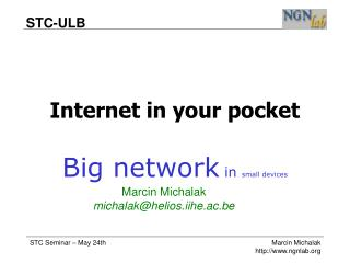 Internet in your pocket
