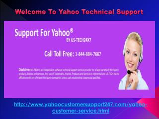 Yahoo Mail customer service phone number