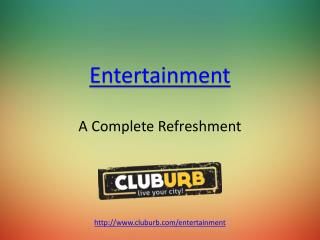 Complete Refreshment - Cluburb