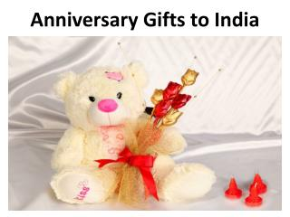 Anniversary Gifts to India