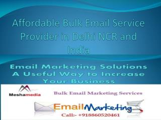 Affordable Bulk Email Service Provider in Delhi NCR