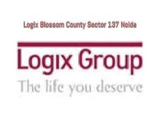 Logix Blossom County Resale Call  91-9999684955 !!!!
