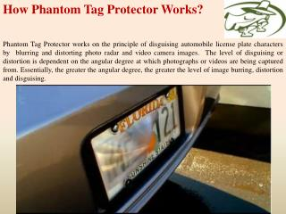 How Phantom Tag Protector Works