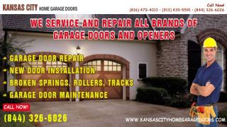 Presentation on Kansas City Home Garage Doors