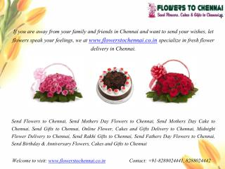 Send Online Flowers to Chennai