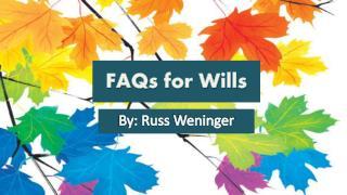 Calgary Legal Wills FAQ - Gay and Lesbian Couples estate pla