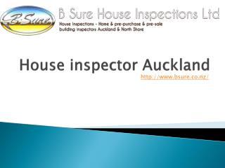 House inspector Auckland