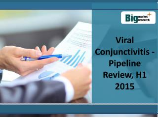 Viral Conjunctivitis - Pipeline Review, H1 2015