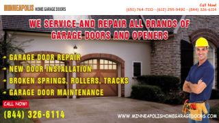 PPT on Minneapolis Home Garage Doors