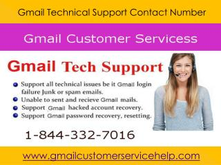 Gmail Password Recovery Number 1-844-332-7016 USA