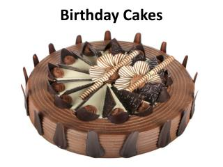 Buy Delicious Birthday Cakes Online