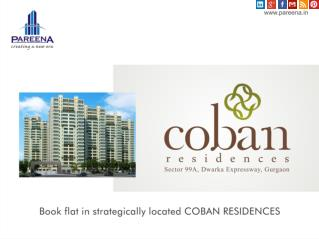 Coban Residences Best 2,3,4 BHK Flats on Dwarka Expressway I