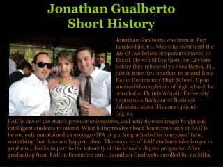 Jonathan Gualberto | Sales and Marketing Work