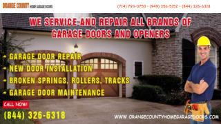 PPT on Orange County Home Garage Doors