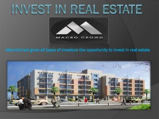 Real Estate Crowdfunding Marketplace