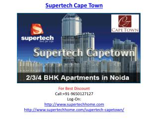 Supertech Cape Town Housing Project