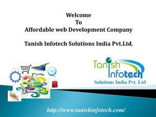 Affordable web development company