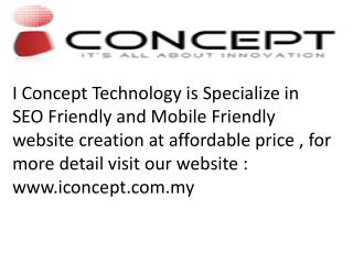 Mobile Friendly Website Design in Malaysia