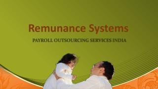 Payroll outsourcing services India