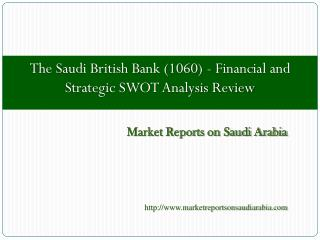 The Saudi British Bank (1060)