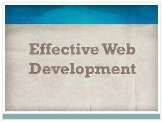 Web Development Service in Chandigarh