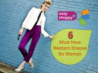 6 Popular Western Dresses for Women
