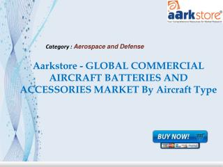 Aarkstore - GLOBAL COMMERCIAL AIRCRAFT BATTERIES