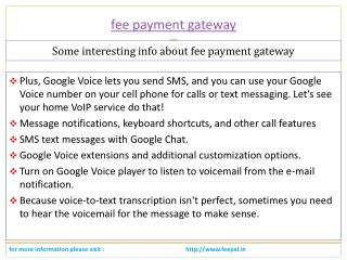 Pay to subscribe  a service payment gateway for school